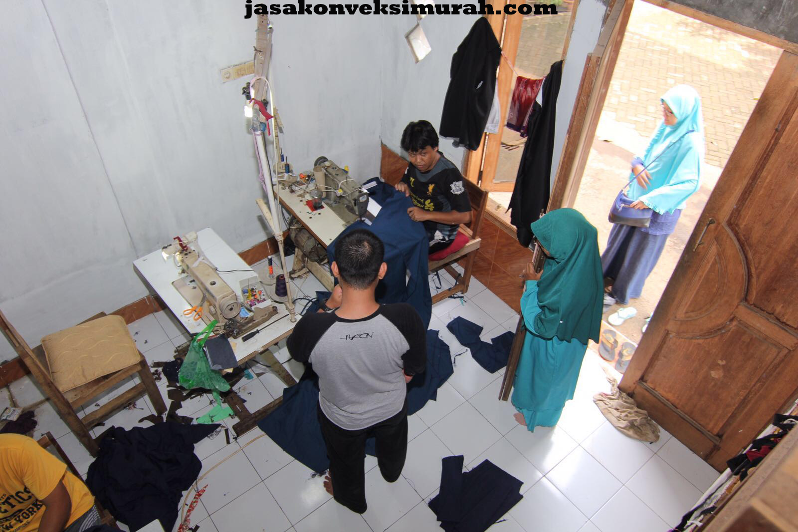 Jasa Konveksi Murah di Pondok Kopi Jakarta Timur