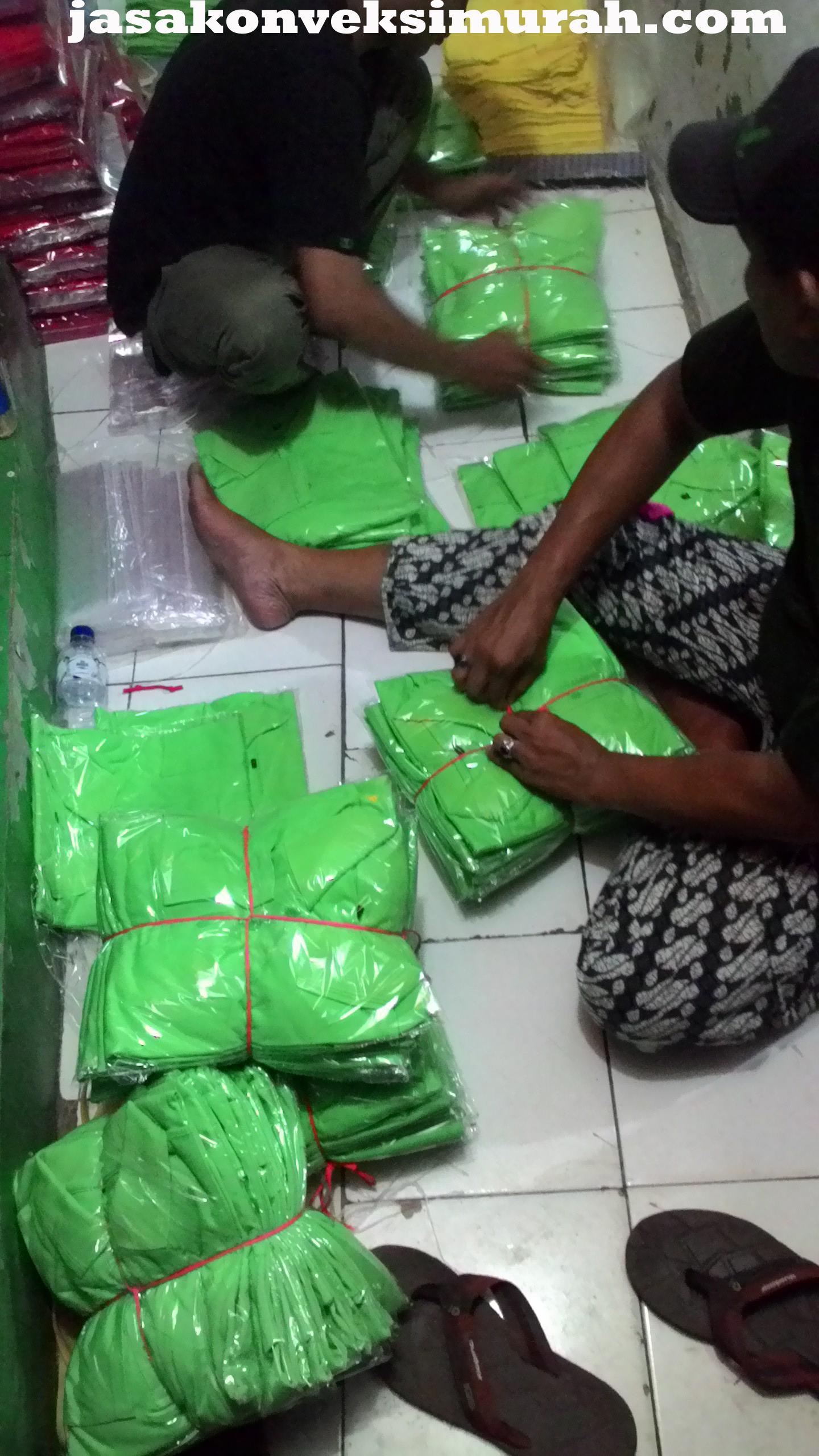 Jasa Konveksi Murah Jalan Mad Nur Parung Bogor