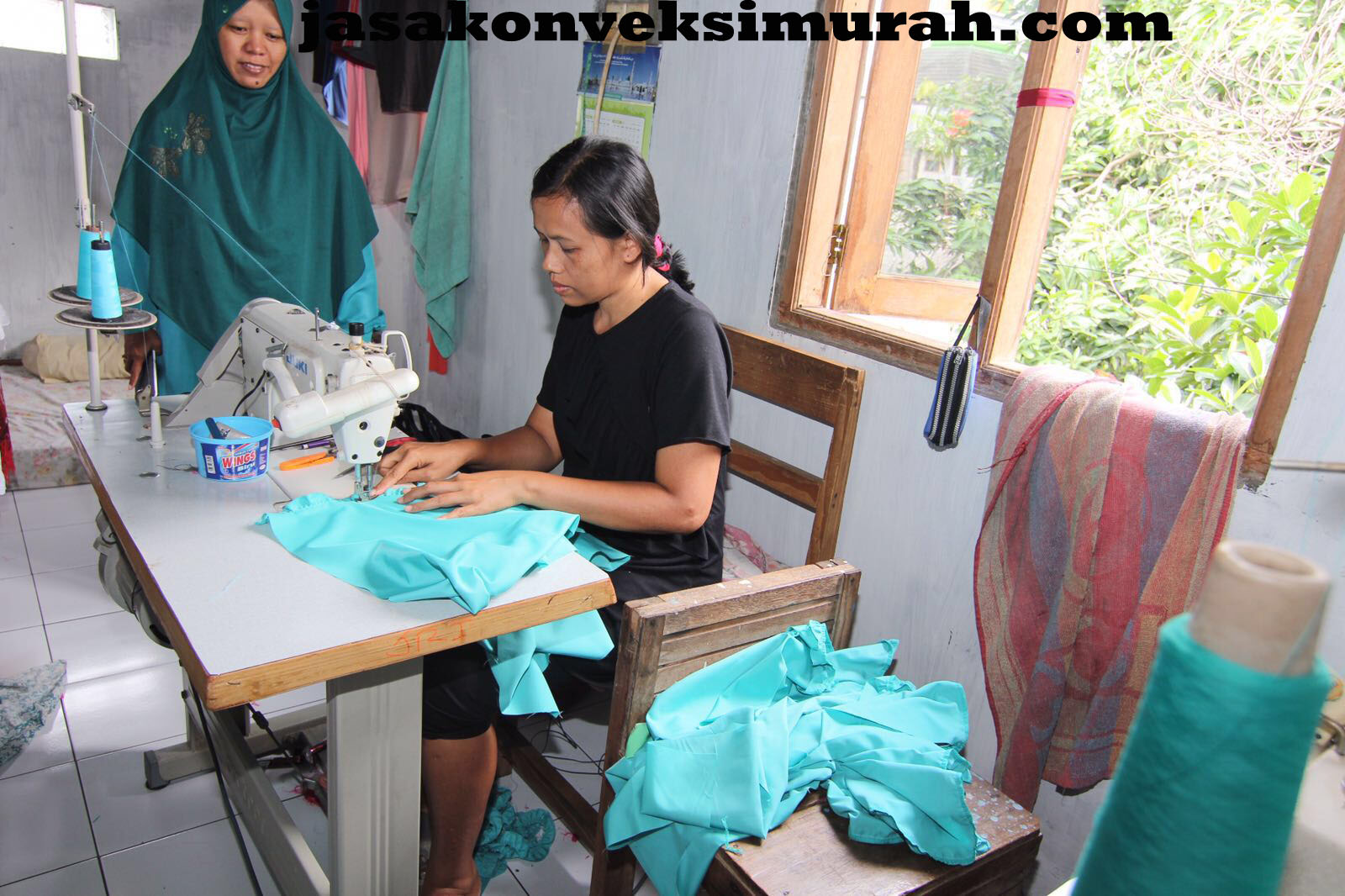 Jasa Konveksi Murah di Jalan Haji Mawi Parung Bogor