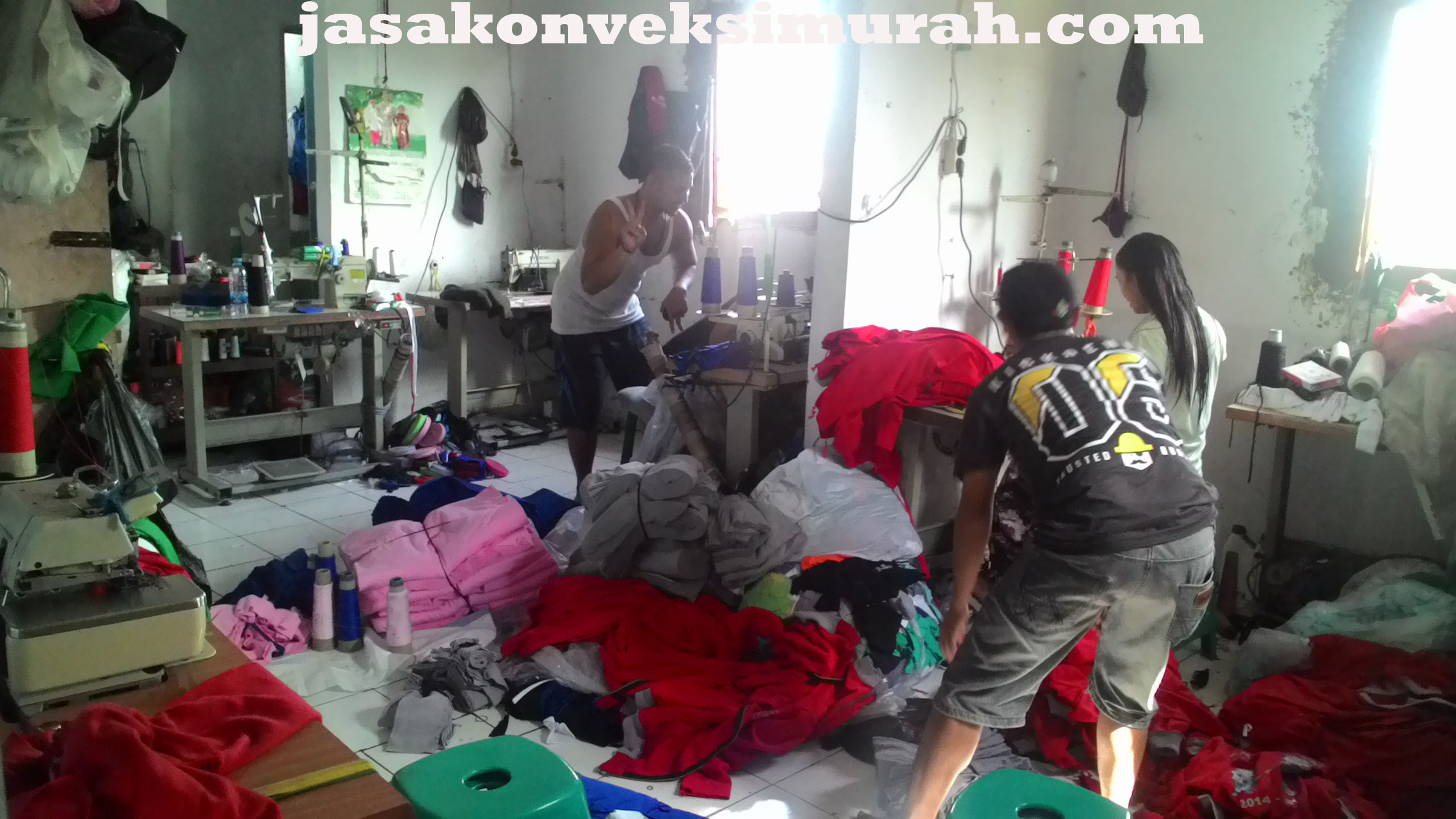 Jasa Konveksi Murah di Bojongsari Depok